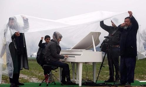 Πιάνο στην Ειδομένη