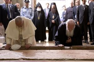 Βαρθολομαίος - Πάπας στον Πανάγιο Τάφο