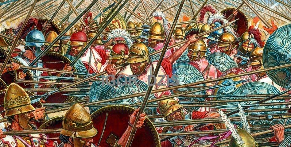 Η μάχη της Σελλασίας 222 π.Χ   ΑΒΕΡΩΦ